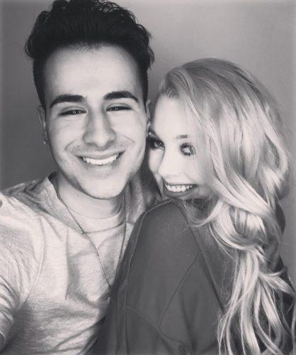 Hailey Reese and her boyfriend, Tyler Medeiros