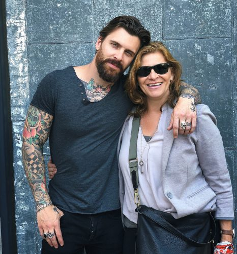 Levi Stocke and his beautiful mother
