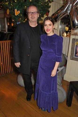 Lisa Eldridge and her husband, Robin Derrick