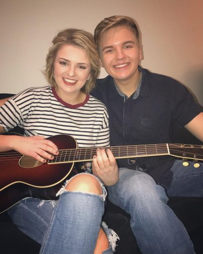 Maddie Poppe and her boyfriend, Caleb