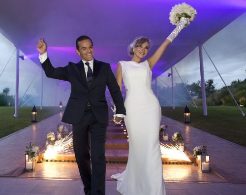 Patricia Govea and Antonio getting married