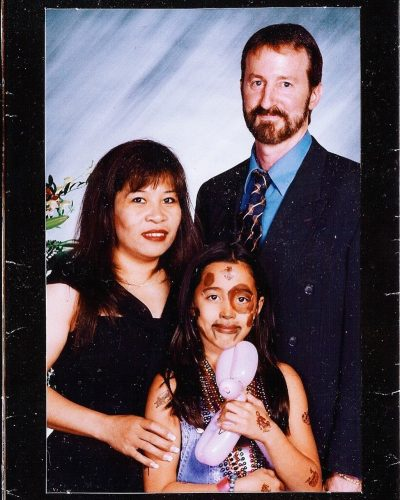 Sierra Deaton and her parents