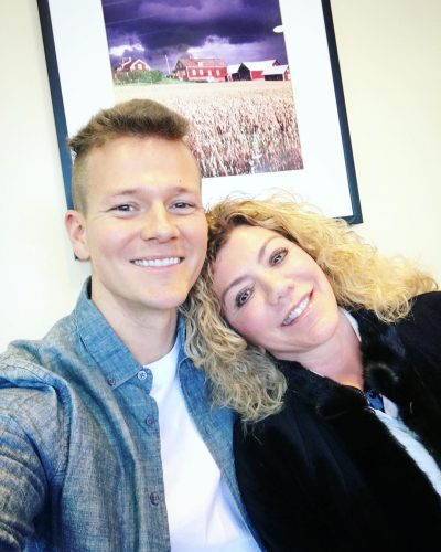 Tyler Ward and his mother, Susan