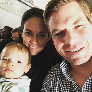 Eric Swalwell amd his family