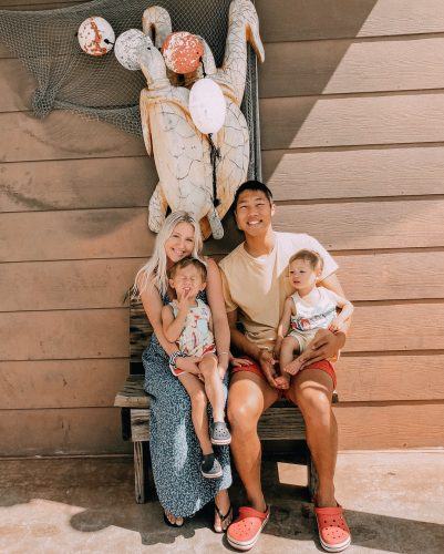 Khoa Nguyen and his cute little family
