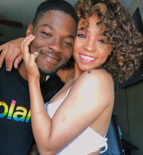 Mark Phillips and his girlfriend, Keeana