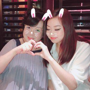 Karen with her Mom