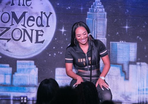 B. Simone during her comedy tour