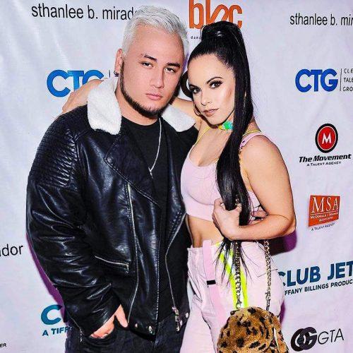 Jojo Gomez with her boyfriend