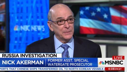 Nick Akerman in MSNBC