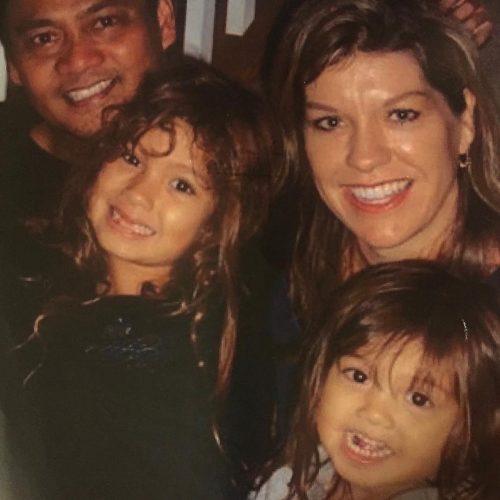 Siena Agudong's family photo.