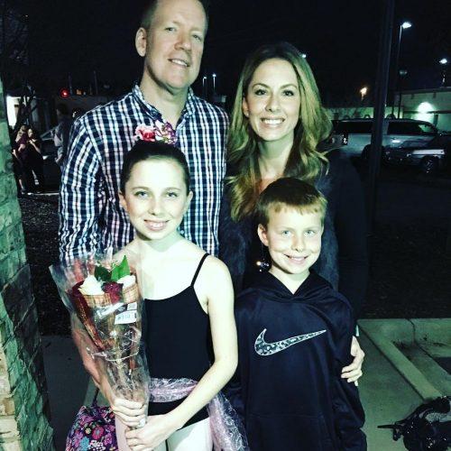 Tara Lane's family