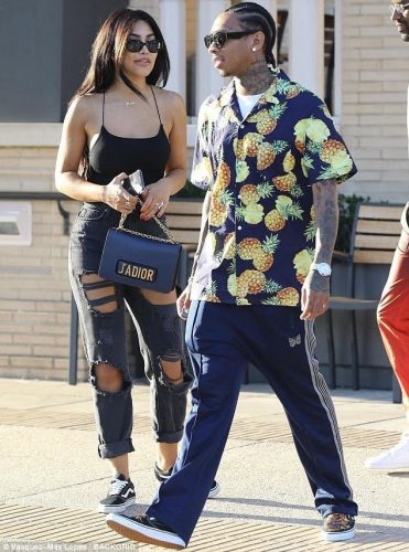 Tyga and Kamilla spotted in Beverly Hills