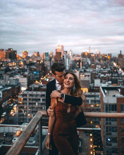 Alyssa Bossio with her boyfriend