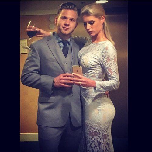Kayce Smith with her boyfriend