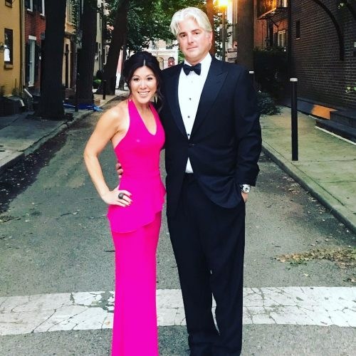 Nydia Han and her husband