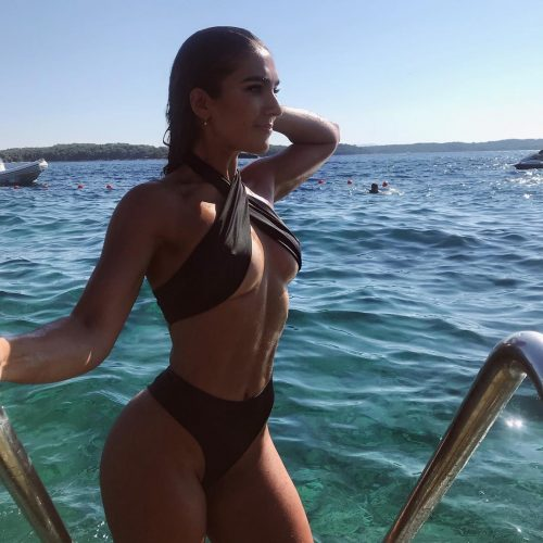 Stefanie Williams on a vacation