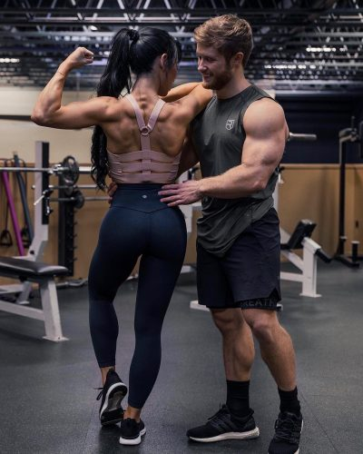 Stephanie Buttermore and her boyfriend, Jeff