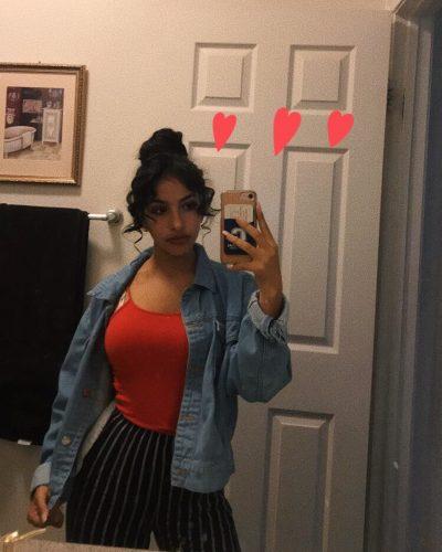 Vereena Sayed miror selfie