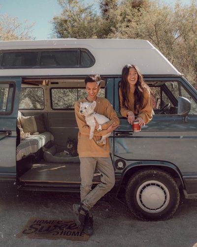 Weylie and her boyfriend