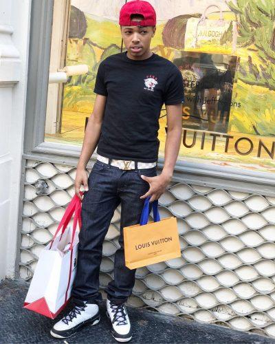 Dejon shopping expensive 'Louis Vuitton'
