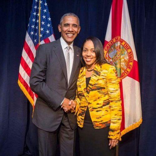 Aramis Donell Ayala with Barack Obama