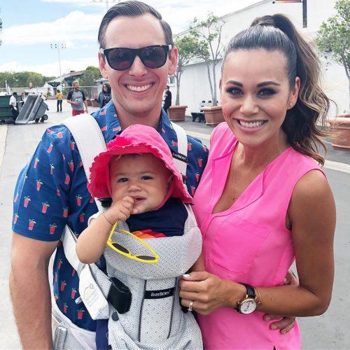 Brandi Milloy's cute family