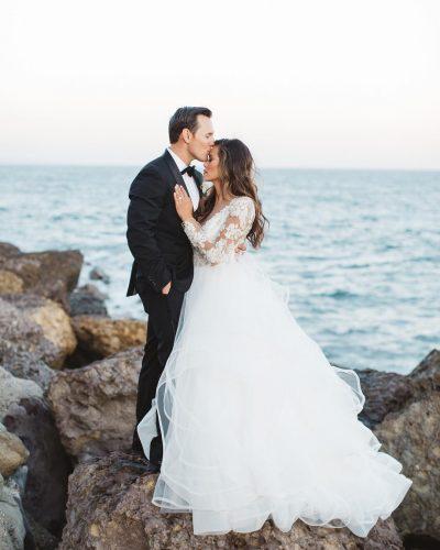 Brandi and Chris wedding photo