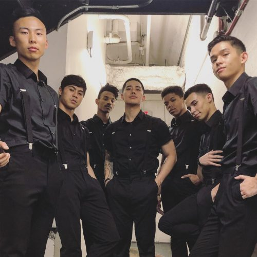 Brian Puspos with his crew