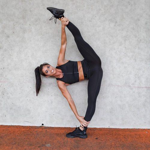 Brittany Hertz showing her skills