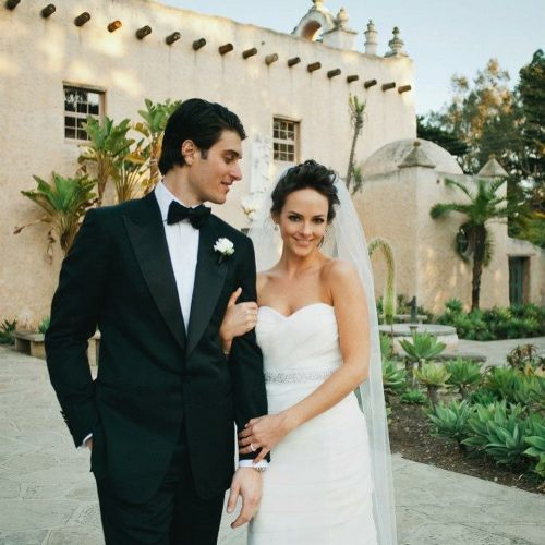 Kelly LeVeque on her marriage day