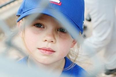 Maddie Lambert when she was a kid