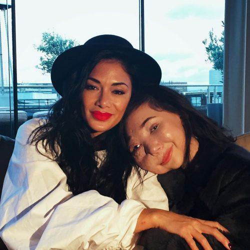 Nikki Lilly with Nicole Scherzinger