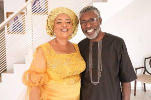 Shirley B. Eniang's mom and dad