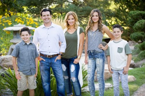 Brock Mikesell's family
