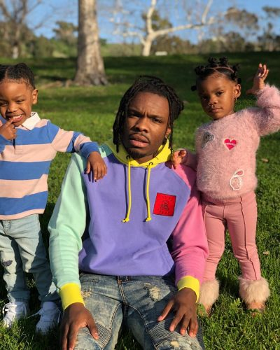 Eastside Ivo with his children