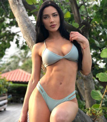 Georgina Mazzeo in a swimwear