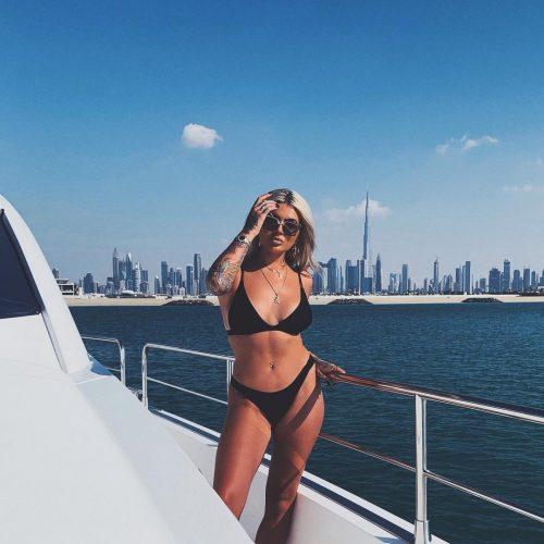 Jamie Genevieve on a vacation