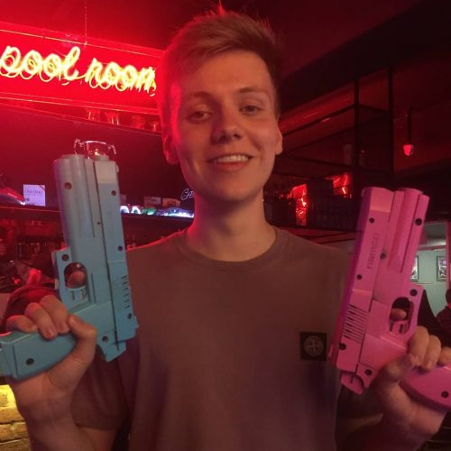 Pyrocynical photo