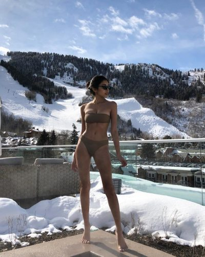 Ruslana Gee at her vacation
