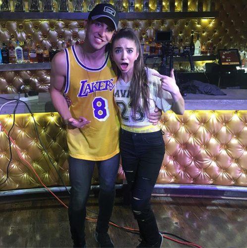 iAmJordi with dancing star, Matt Stefanina