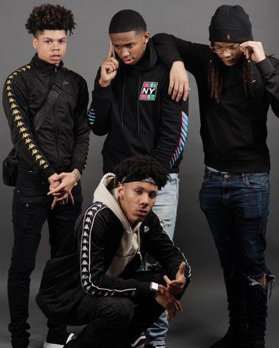 Cey with YRNDJ, BJ Groovy and K Obe