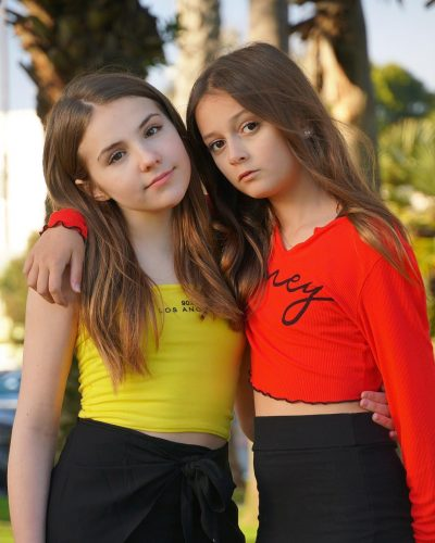 Sophie Fergi with Piper Rockelle