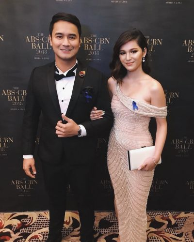 Barbie Imperial with her co-star