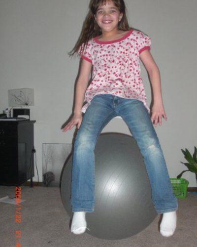 Munda when she was a kid