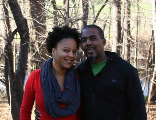 Christina Greer with her husband