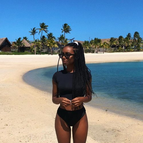 Kianna Naomi in great shape