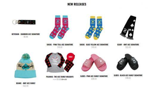 Ace Family's Merchandise