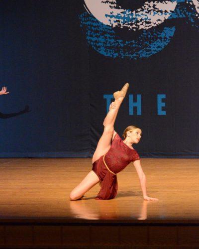 Katie Feeney dancing