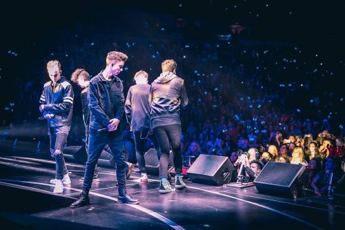 Zack Caspary's photo of Why Don't We while performing at concert